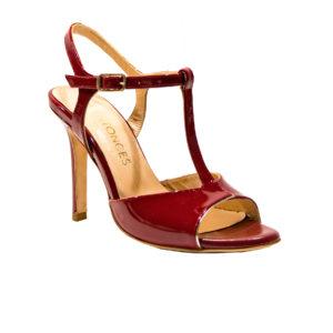 scarpa da tango | Naima | Rosso